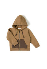 Nixnut Pocket hoodie Toffee