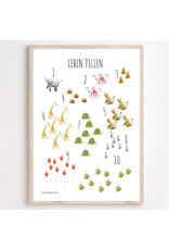 Juulz Illustrations & Design 123 Poster