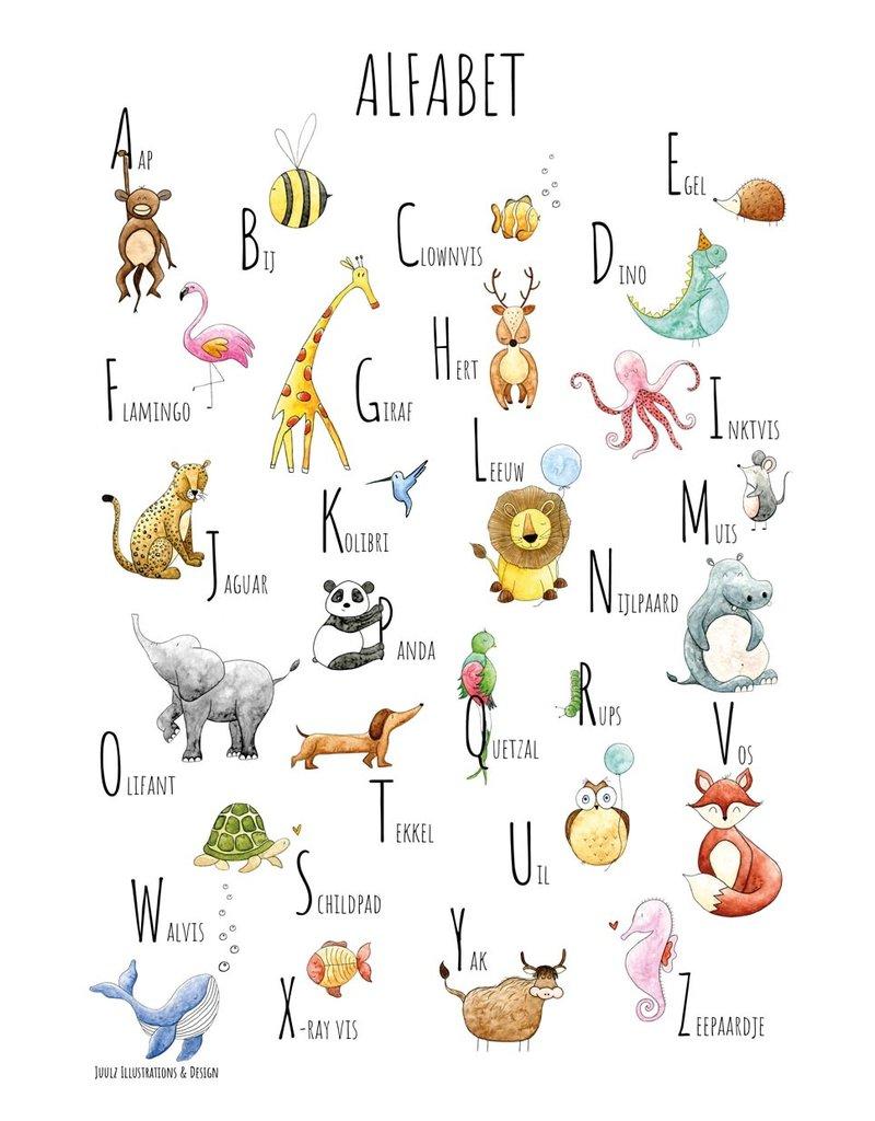 Juulz Illustrations & Design ABC Poster