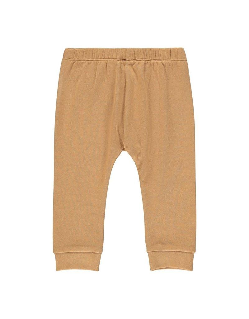 Lil' Atelier Geo Loose Pants Tabacco Brown