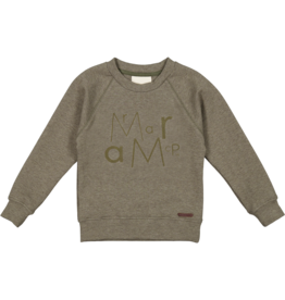 MarMar Copenhagen Thadeus Sweater Dusty Olive Melange