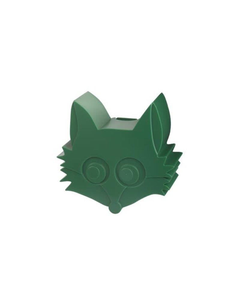 Blafre Snack box 1 compartiment fox dark green