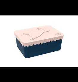 Blafre Lunch box 1 compartiment puffin peach