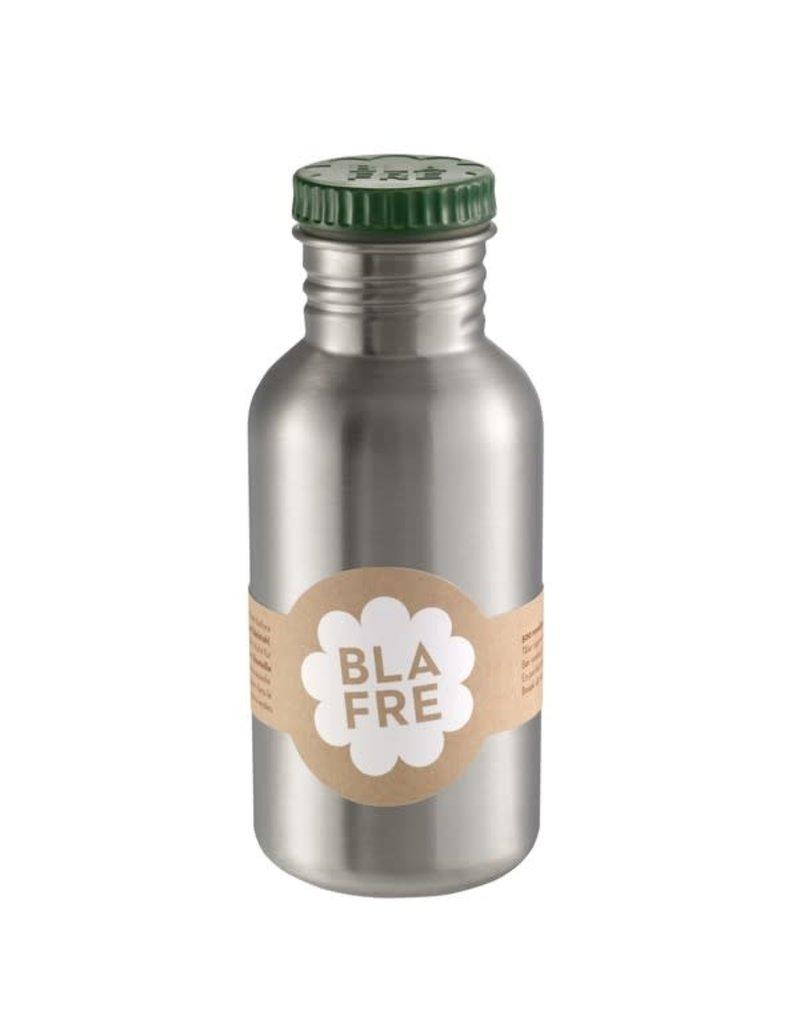 Blafre Stainless steel bottle 500ml dark green
