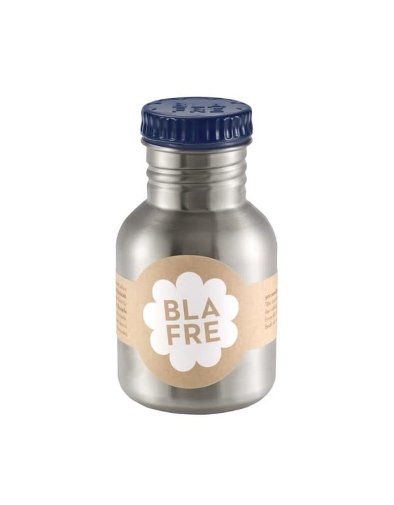 Blafre Stainless steel bottle 300ml navy