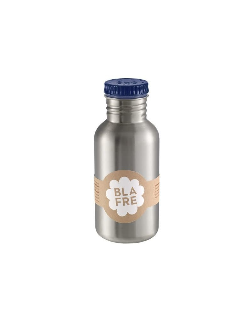 Blafre Stainless steel bottle 500ml navy