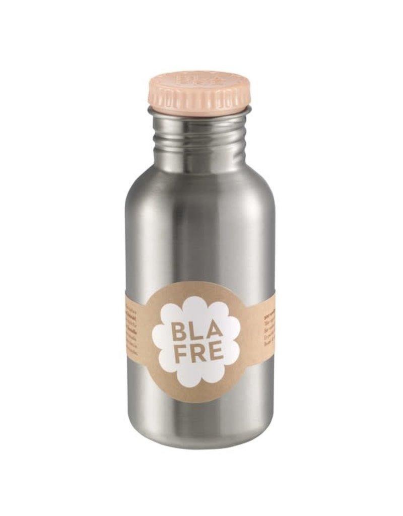Blafre Stainless steel bottle 500ml peach