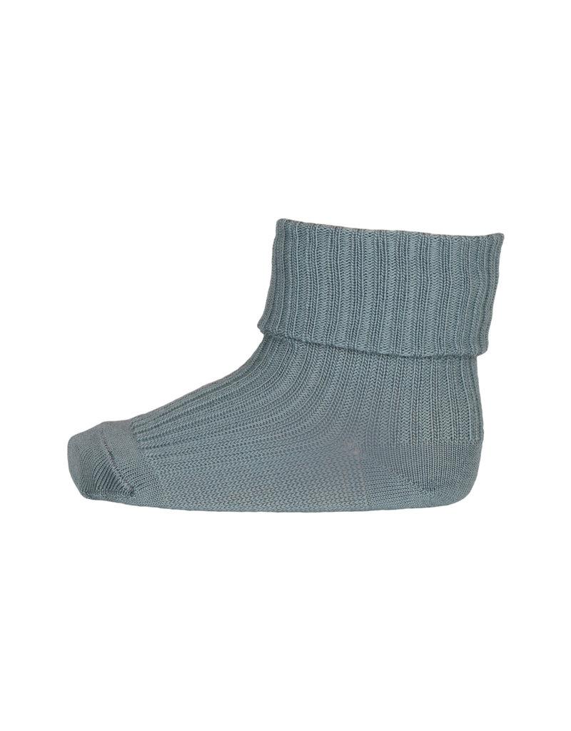 mp Denmark Cotton Rib Baby Socks Stormy Sea 109
