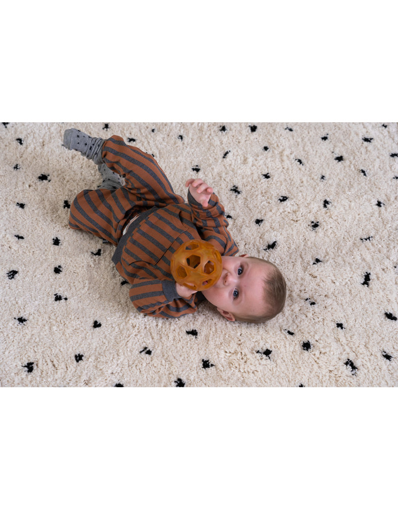 House of Jamie Baby Pants Ginger Bread & Granite Stripes