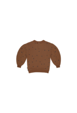 House of Jamie Balloon Sweater Ginger Bread Dots