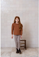 House of Jamie Collar Tee Ginger Bread Dots
