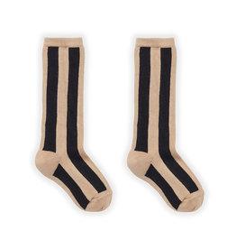 Sproet & Sprout Sock Stripe Nougat