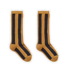Sproet & Sprout Sock Stripe Mustard