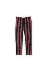 Sproet & Sprout Legging Painted Stripe Fig