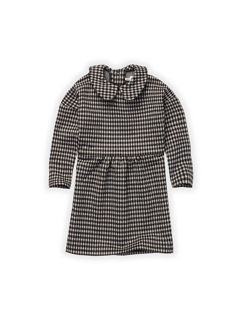Sproet & Sprout Dress Collar Block Check