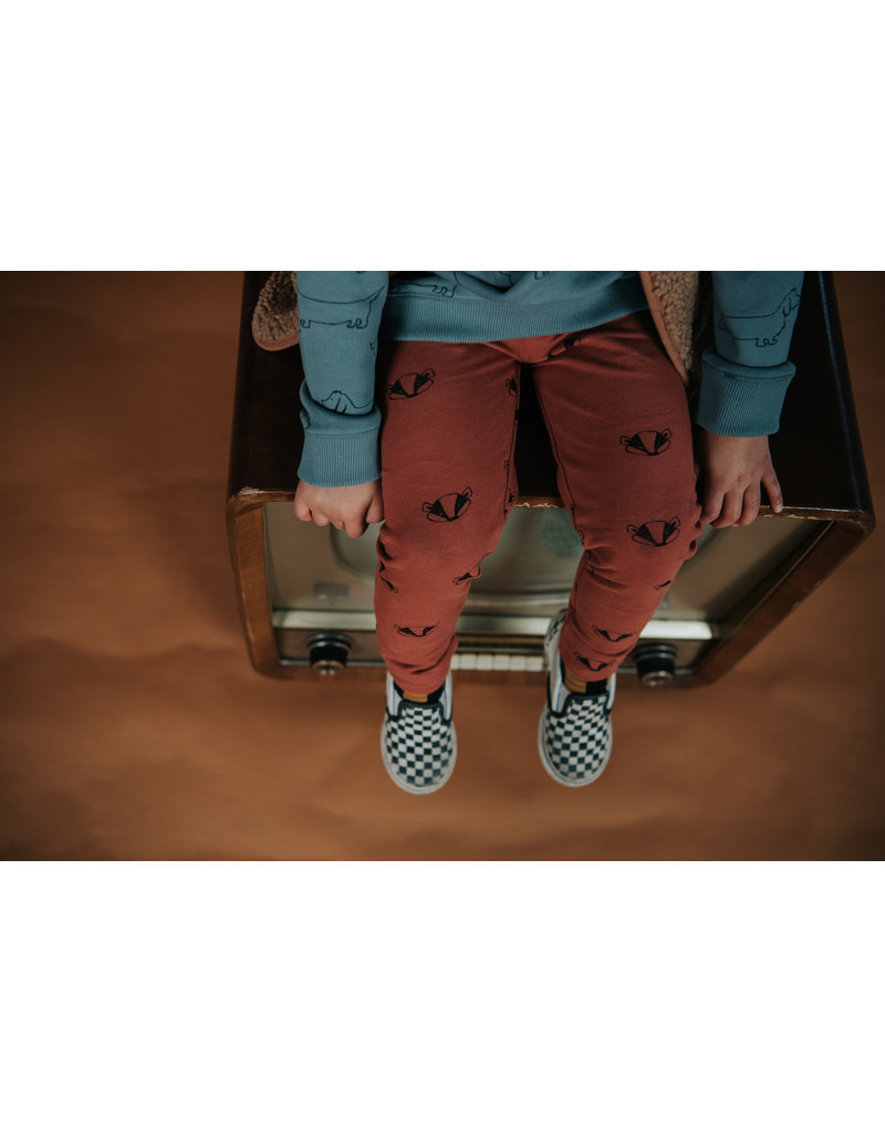 Sproet & Sprout Legging Badger Print