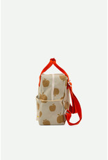 Sticky Lemon Backpack small special edition apples pool green + leaf green + apple red