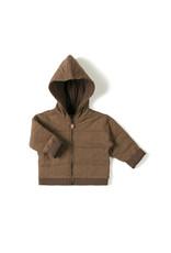 Nixnut Baby Jacket - Toffee Stripe