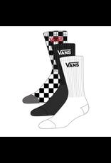 Vans Classic Crew Kindersokken  Black Checkerboard