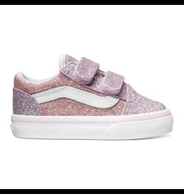 Vans Toddler Old Skool Glitter Orchid Powder Pink