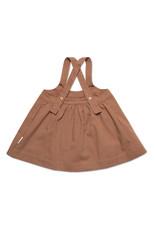 Petit Blush Oversized Pinafore Dress Clove