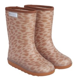 En Fant Thermo Boots Leopard Leather Brown