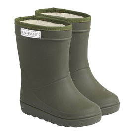 En Fant Thermo Boots Dusty Olive