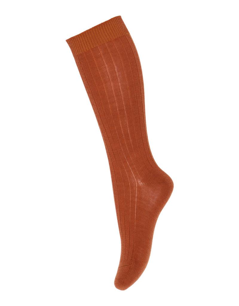 mp Denmark Selma Knee Socks Sienna 1393