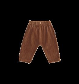 House of Jamie Baby Pants - Ginger Bread Rib Velvet
