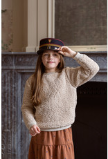 House of Jamie Teddie Crewneck Sweater Oatmeal