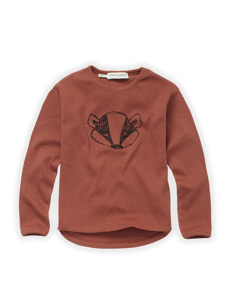 Sproet & Sprout T-shirt Rib Badger