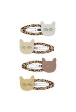 Mimi & Lula Cute Cat Leopard Clic Clacs