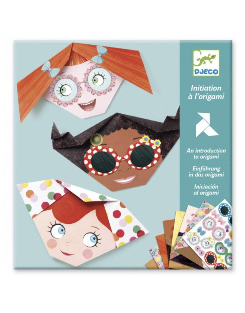 Djeco Origami - Grappige gezichten