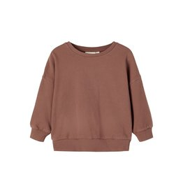 Lil' Atelier Rage Oversized Sweater Chestnut