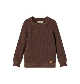 Lil' Atelier Emlen Knit Sweater Chestnut