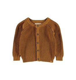 Lil' Atelier Emlen Knit Cardigan Golden Brown