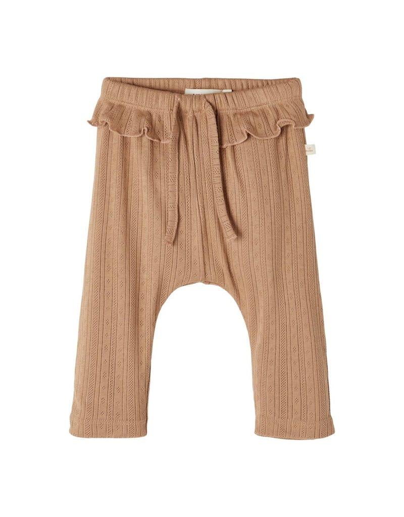 Lil' Atelier Rachel Loose Pants Woodsmoke