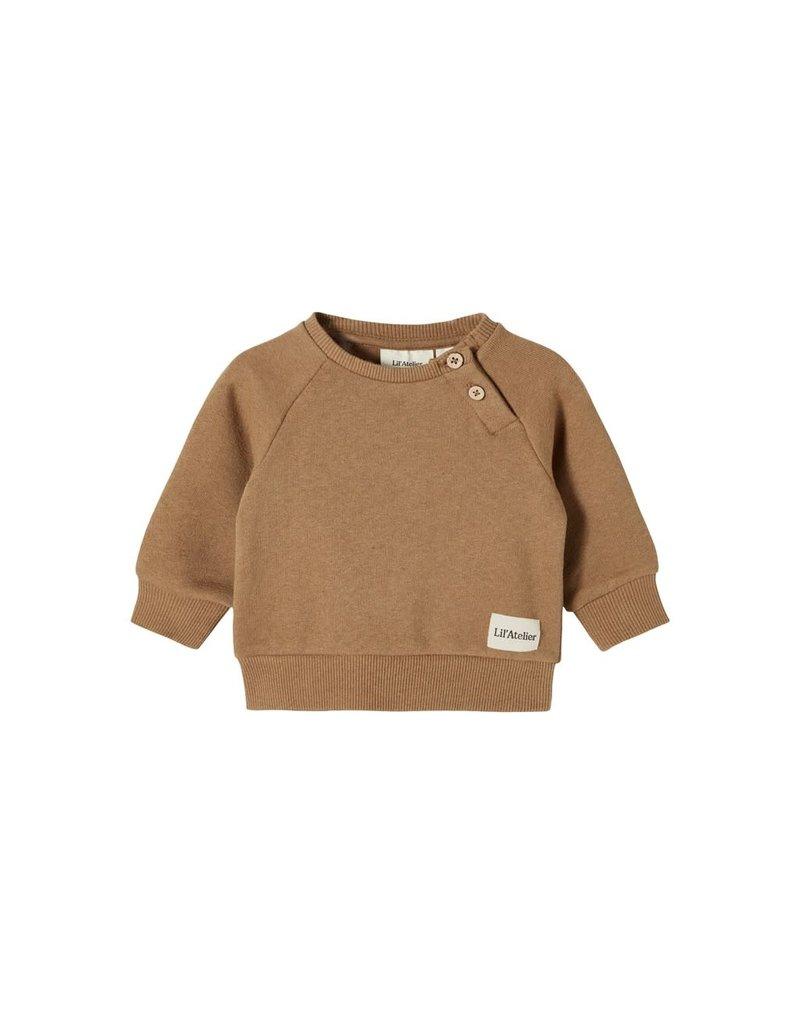 Lil' Atelier Rafael Loose Sweater Otter