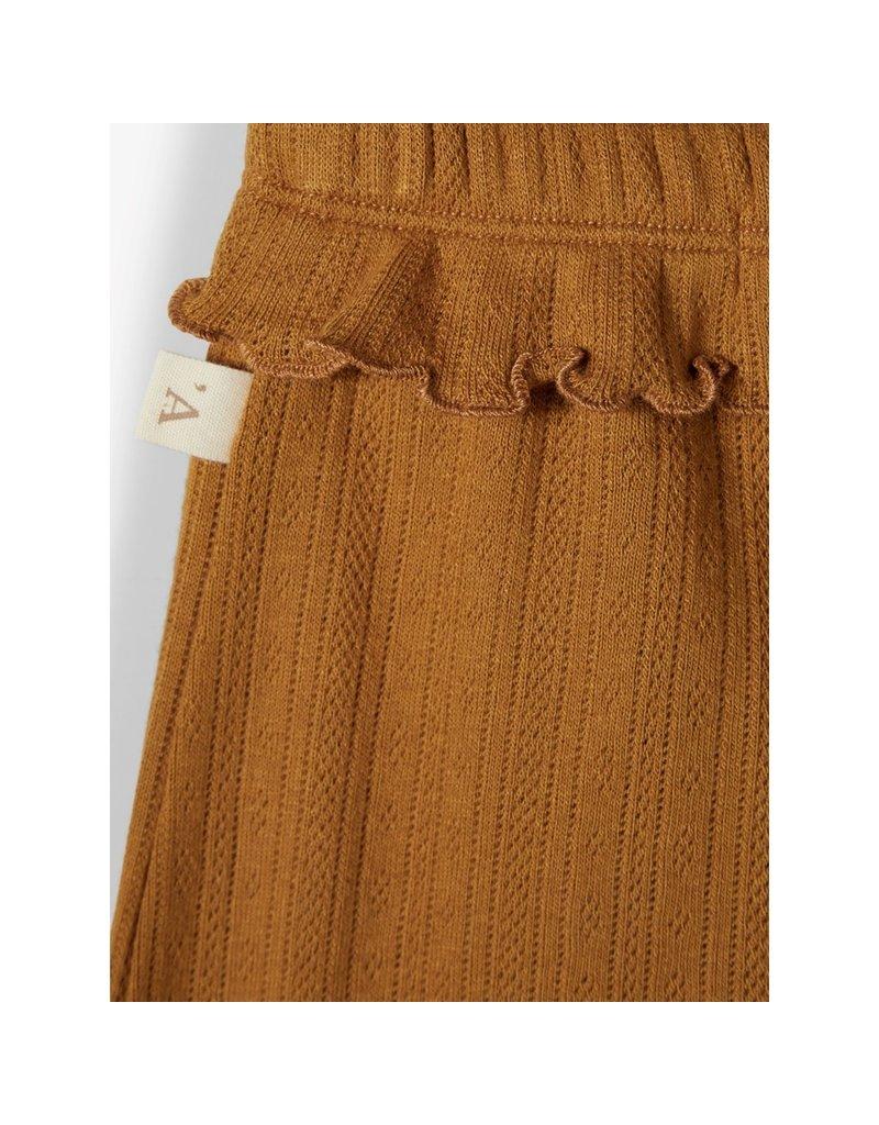 Lil' Atelier Rachel Loose Pants Golden Brown