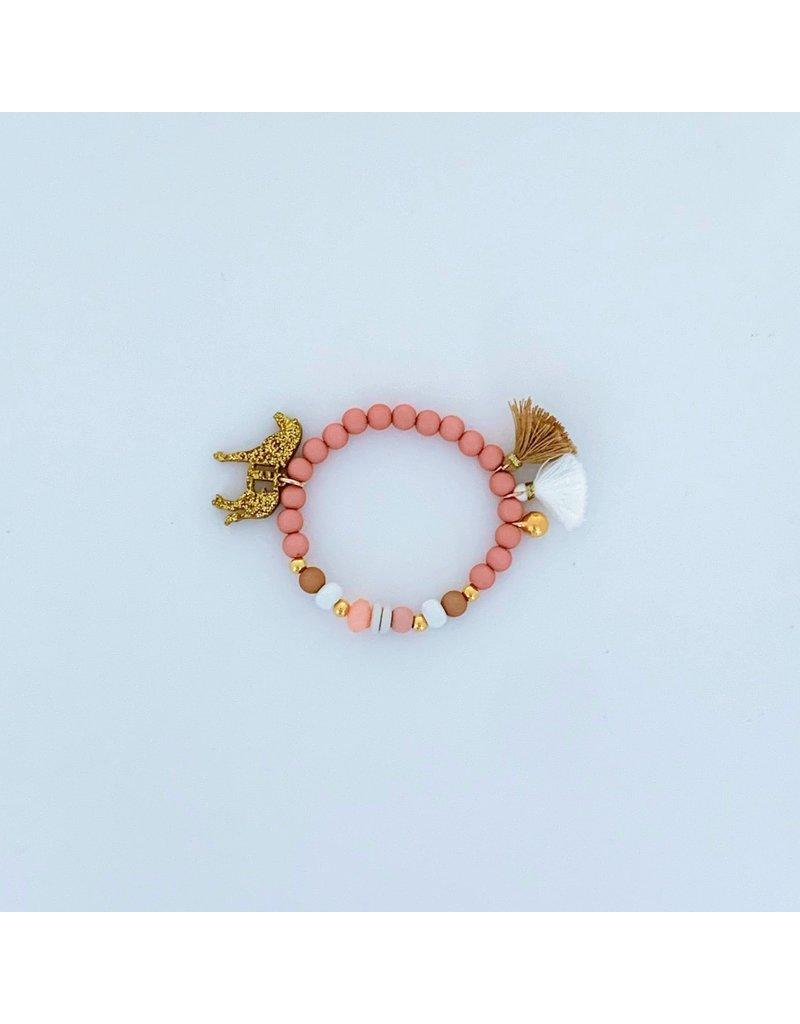 Feestbeest Kids Armbandje Sweetheart Pink