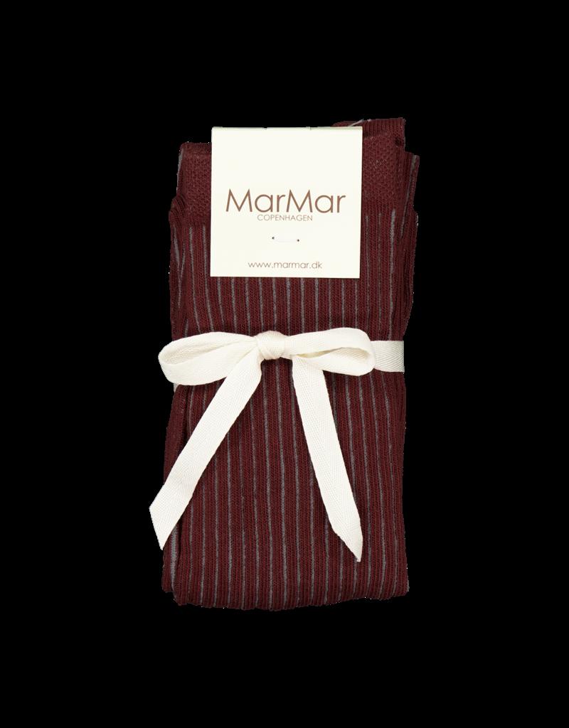 MarMar Copenhagen Tights Dark Ruby