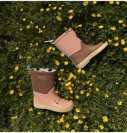 Sticky Lemon Rain boots Colourblocking Willow Brown