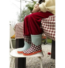 Sticky Lemon Rain Boots Gingham Special Edition