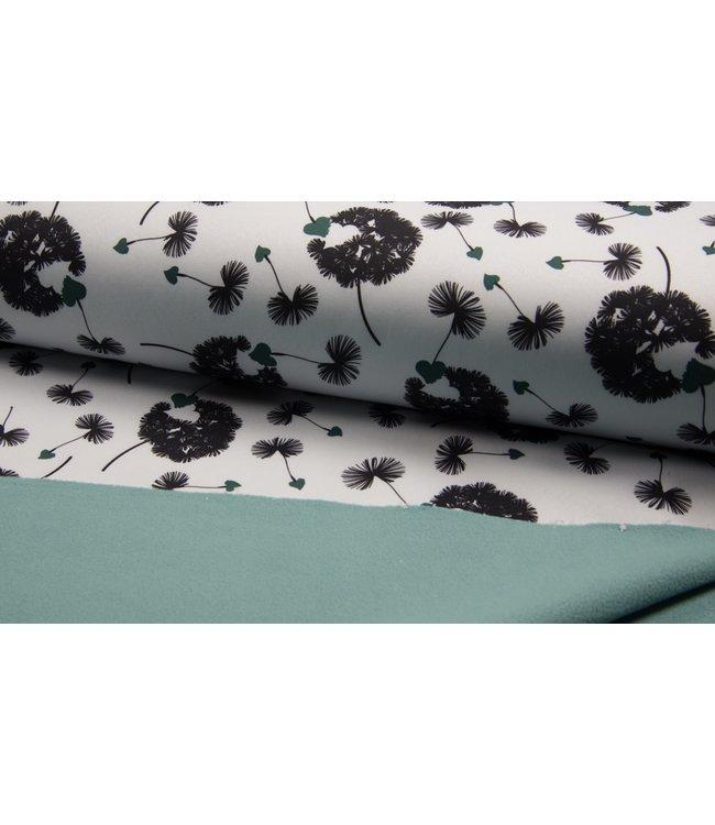 Softshell Wit Blaasbloemen