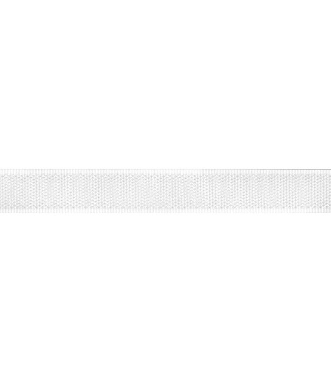 Klittenband 50 mm haak wit