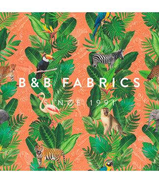 B&B Fabrics Dralon Outdoor Monkeys