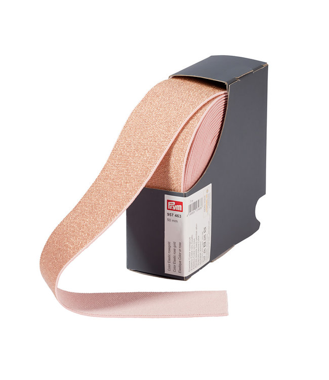 Sierelastiek Roze-Goud 50 mm