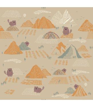Katia Fabrics Softshell Beaver & Mountains