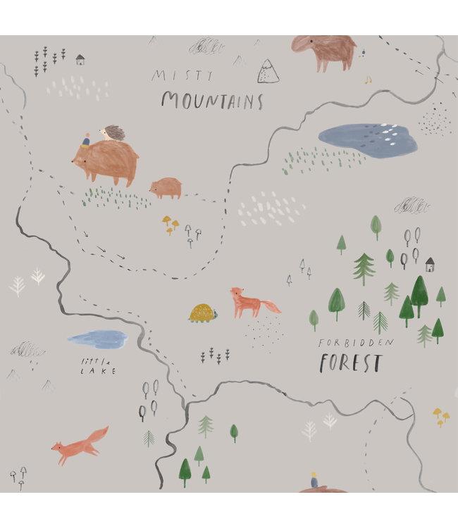 Katia Fabrics Softshell Misty Mountains