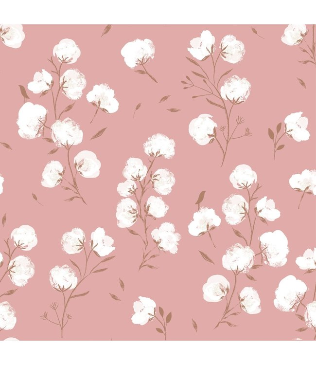 Katia Fabrics Softshell Cotton Flowers